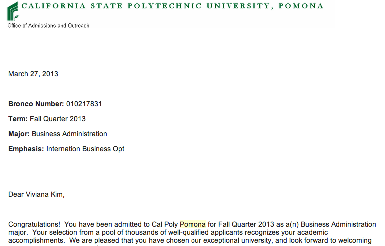 Cal poly career services cover letter